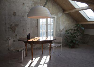 Oplossingen akoestische design lamp verlichting dome