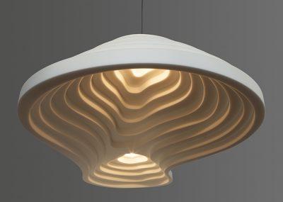 Oplossingen akoestische design lamp verlichting rice field double 240