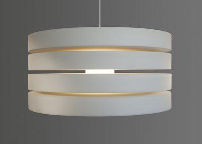 Oplossingen akoestische design lamp verlichting rice field round round 120