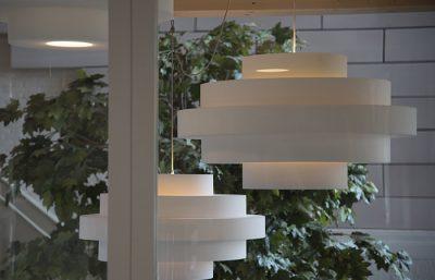 Oplossingen akoestische design lamp verlichting retro