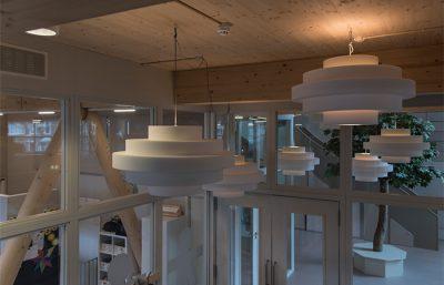 Project kleintje zuid retro akoestische design lamp